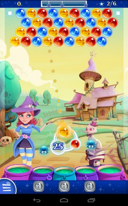 Уровень - Bubble Witch 2 Saga для Android