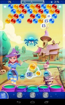 Уничтожение шаров - Bubble Witch 2 Saga для Android
