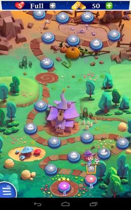 Карта уровней - Bubble Witch 2 Saga для Android