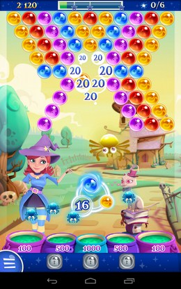 Новый этап - Bubble Witch 2 Saga для Android