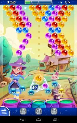 Прицеливание - Bubble Witch 2 Saga для Android