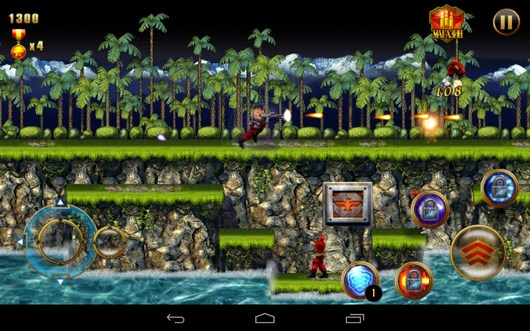 Начало битвы - CONTRA: EVOLUTION для Android