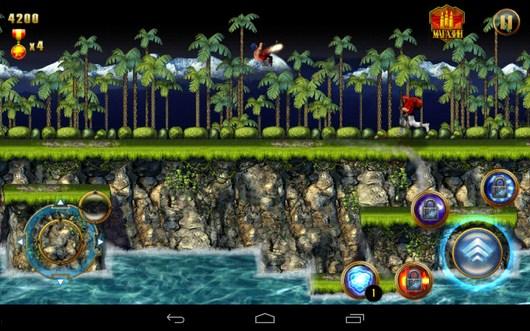 Прыжок - CONTRA: EVOLUTION для Android
