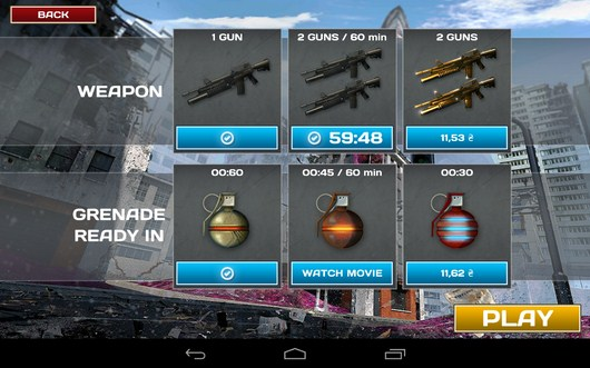 Оружие - Call of Dead для Android