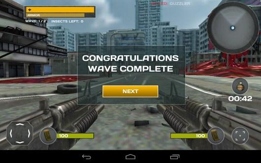 Волна уничтожена - Call of Dead для Android