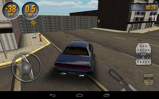 Первый заворот - Car Simulator 3D для Android