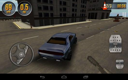 Поворот с заносом - Car Simulator 3D для Android