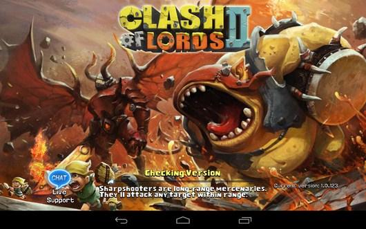 Стратегическая игра Clash of Lords 2 для Android