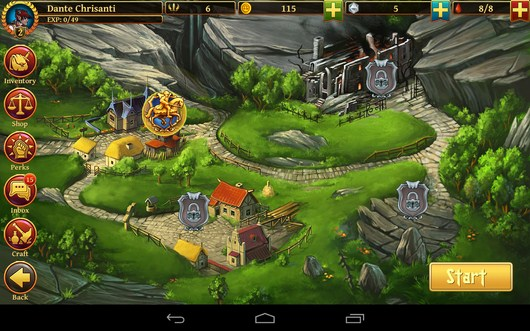 Карта - Clash of the Damned для Android