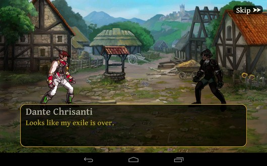 Диалог для квеста - Clash of the Damned для Android