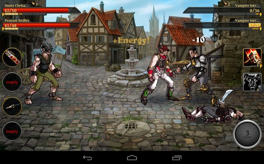 Удары - Clash of the Damned для Android
