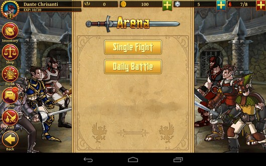 Арена - Clash of the Damned для Android