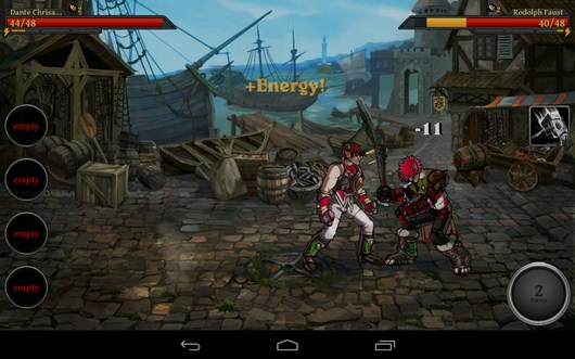 Бой - Clash of the Damned для Android