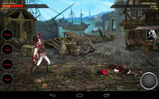 Победа в бою - Clash of the Damned для Android