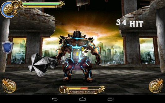 Удары - Cross Horizon для Android
