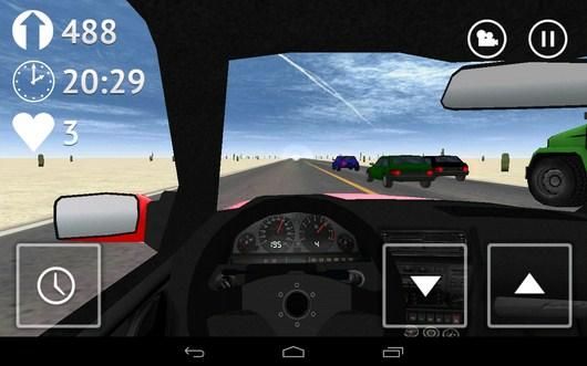 Набираем скорость - Desert Traffic Racer для Android