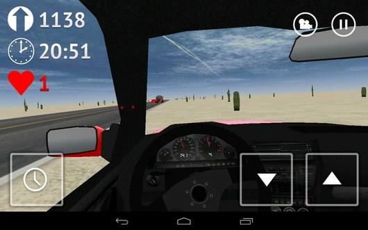 Вылетели на обочину - Desert Traffic Racer для Android
