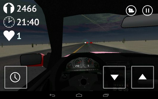 Ночь - Desert Traffic Racer для Android