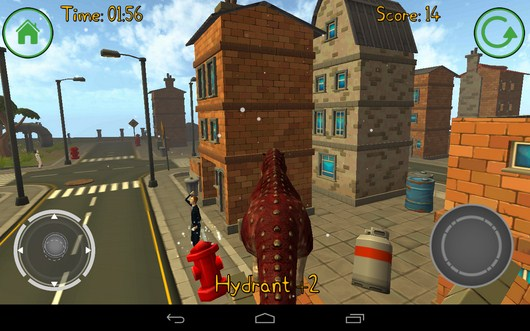 Бежим на дом - Dino Simulator для Android