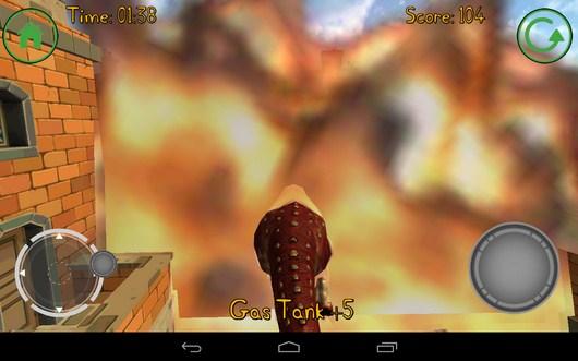 Взрыв бочек - Dino Simulator для Android