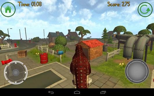 Прыжок - Dino Simulator для Android