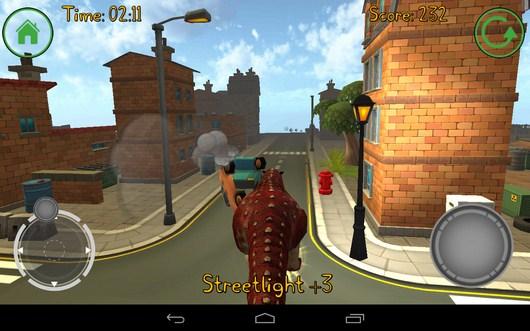Сносим машины - Dino Simulator для Android