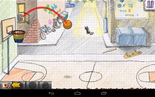 Целимся - Doodle Basketball 2 для Android