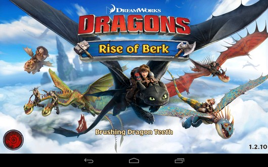 Стратегия Dragons: Rise of Berk для Android