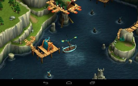 Ловля рыбы - Dragons: Rise of Berk для Android