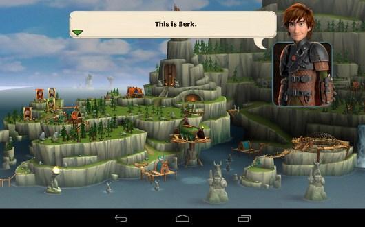 Помощник - Dragons: Rise of Berk для Android