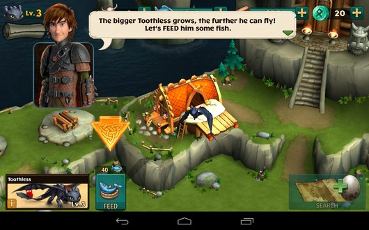 Драконье логово - Dragons: Rise of Berk для Android