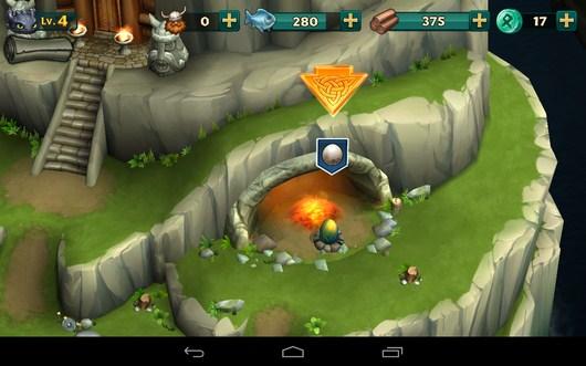 Растим яйцо - Dragons: Rise of Berk для Android