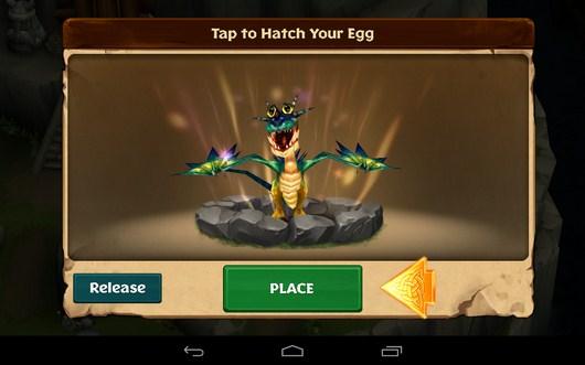 Новый дракон - Dragons: Rise of Berk для Android