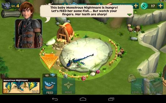 Обучение дракона - Dragons: Rise of Berk для Android