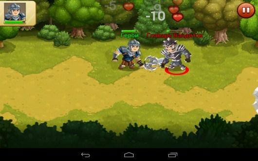 Битва с боссом - Epic Empire для Android