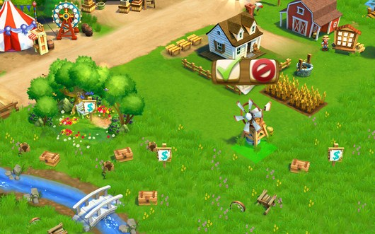 Выбор места - FarmVille2 Country Escape для Android