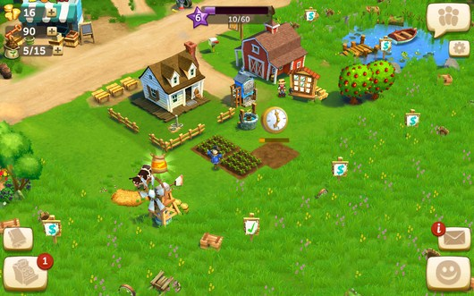 Ваша ферма - FarmVille2 Country Escape для Android