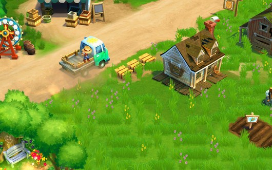 Начало игры - FarmVille2 Country Escape для Android