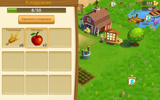 Склад - FarmVille2 Country Escape для Android