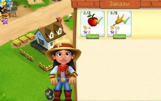 Продажа овощей - FarmVille2 Country Escape для Android
