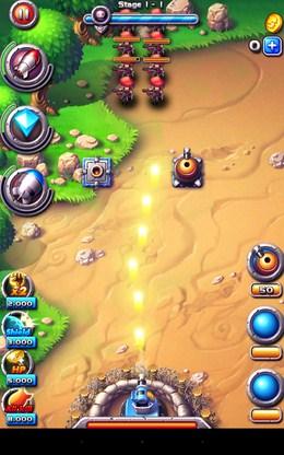 Начало боя - Field Defender для Android