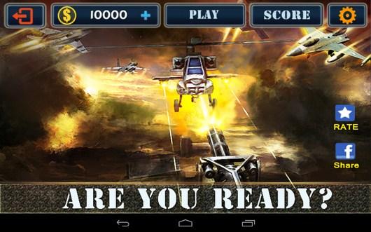 Стрельба из пулемета Flight Gun 3D для Android