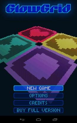 Головоломка GlowGrid для Android