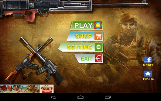 Шутер Gun Strike 3D для Android