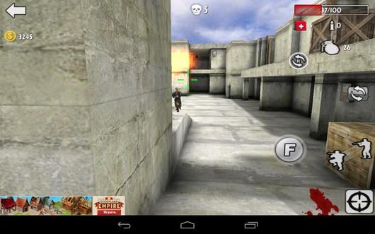 Рсстрел - Gun Strike 3D для Android