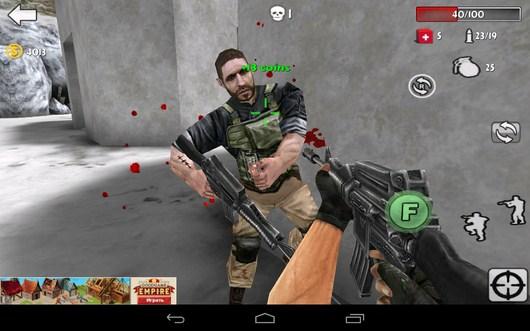 Первый враг - Gun Strike 3D для Android
