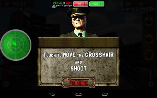 Наставления командира - Gunship Counter Shooter 3D для Android