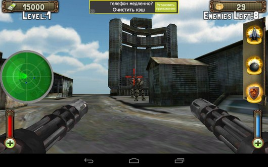 Стрельба по врагам - Gunship Counter Shooter 3D для Android