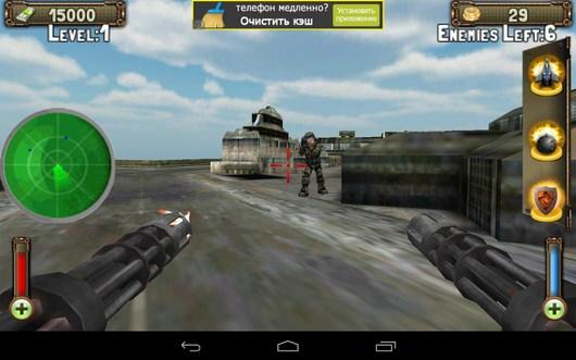 Враг за стеной - Gunship Counter Shooter 3D для Android