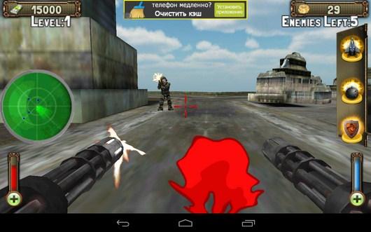 По вам стреляют - Gunship Counter Shooter 3D для Android